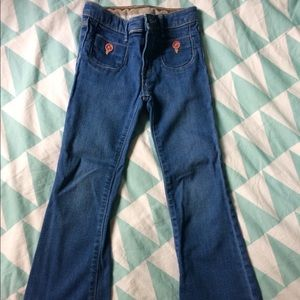 Other - Gap Girls size 5T Bellbottom Jeans